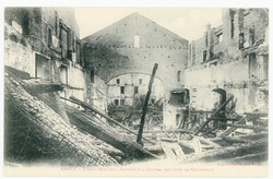 Nancy : théâtre municipal, incendié le 4 octobre 1906 (côté des spectateur…