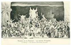 Le déluge, les derniers survivants (groupe) : théâtre de la Passion, la Di…