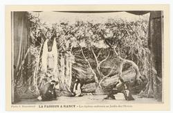 Les apôtres endormis au Jardin des Oliviers. La Passion à Nancy