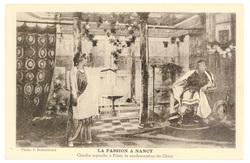 Claudia reproche à Pilate la condamnation du Christ. La Passion à Nancy