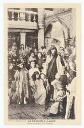 Jésus au milieu des enfants. La Passion à Nancy