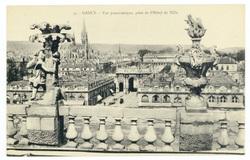 Nancy : vue panoramique, prise de l'Hôtel de Ville