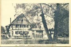 Nancy : maison alsacienne (parc Sainte-Marie)