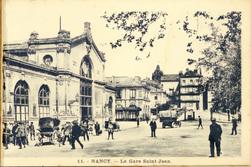 Nancy. La Gare Saint-Jean