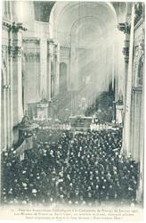 Fête des Associations Catholiques à la Cathédrale de Nancy, 20 janvier 1907