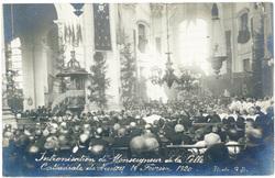 Intronisation de Monseigneur de la Celle : cathédrale de Nancy 19 février …