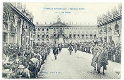 Le défilé. Cortège historique, Nancy 1909