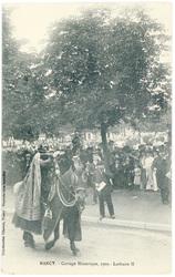 Lothaire II : Nancy, cortège historique, 1909