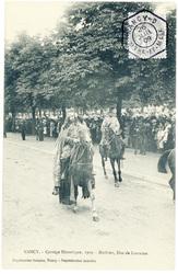 Mathieu, duc de Lorraine : Nancy, cortège historique, 1909
