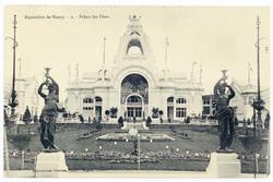 Palais des fêtes : exposition de Nancy