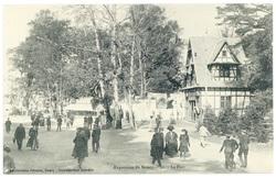 Le parc : exposition de Nancy