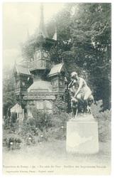 Un coin du parc, pavillon des imprimeries réunies : exposition de Nancy
