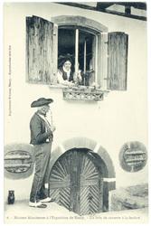 Un brin de causette à la fenêtre : maisons alsaciennes à l'exposition de N…
