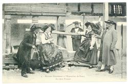 Au vieux pressoir : maisons alsaciennes à l'exposition de Nancy