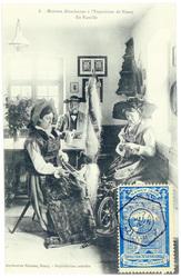 En famille : maisons alsaciennes à l'exposition de Nancy