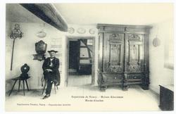 Musée alsacien : exposition de Nancy, maison alsacienne