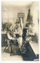 En famille : maison alsacienne à l'exposition de Nancy