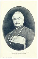 Nancy. Son Éminence le cardinal Mathieu, membre de l'Académie Française