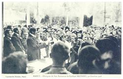 Nancy. Obsèques de son Éminence le Cardinal Mathieu, 30 octobre 1908