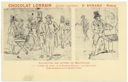 Types de 1830 : à la foire de Neuilly, la turlutaine : (éditée spécialemen…