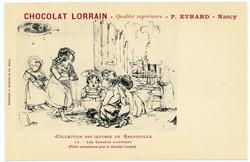 Les enfants s'amusent : (éditée spécialement pour le Chocolat Lorrain), ch…