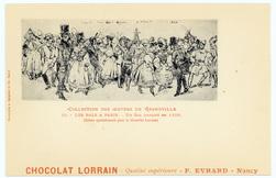 Les bals à Paris : un bal masqué en 1828 : (éditée spécialement pour le Ch…