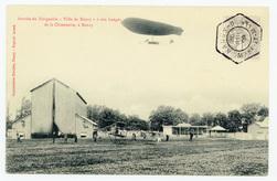 """Arrivée du Dirigeable """"Ville de Nancy"""" à son hangar de la Chiennerie, à Na…"""