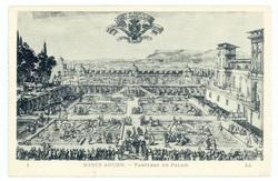 Nancy ancien : parterre du palais