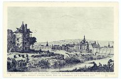 Nancy ancien : vue du marais où Charles, Duc de Bourgogne, fut tué dans la…