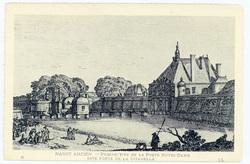 Nancy ancien : perspective de la porte Notre-Dame dite Porte de la Citadel…