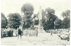 Défilé des troupes place Carnot. Nancy : rentrée triomphale du 20e corps, …