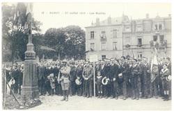 Les mutilés. Nancy, 27 juillet 1919