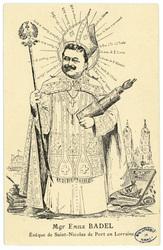 Mgr Émile Badel Évêque de Saint-Nicolas-de-Port en Lorraine