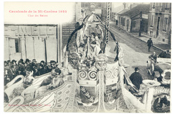 Char des Reines : cavalcade de la Mi Carême 1922