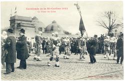 La Danse des Gilles : cavalcade de la Mi Carême 1922