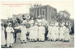Char du Bouillon Kub : cavalcade de la Mi Carême 1922