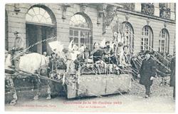 Char de Shéhérazade : cavalcade de la Mi Carême 1922