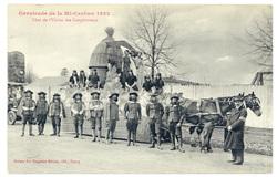 Char de l'Union des Coopérateurs : cavalcade de la Mi Carême 1922