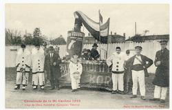 Char de l'Anis Pernod et Quinquina Vouvray : cavalcade de la Mi Carême 1922