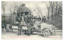 Char de l'Amicale des Trois-Maisons : cavalcade de la Mi Carême 1922