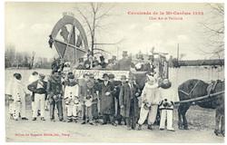 Char Art et Publicité : cavalcade de la Mi Carême 1922