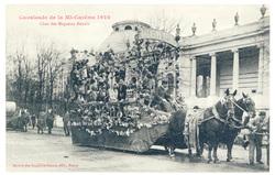 Char des Magasins Réunis : cavalcade de la Mi Carême 1922