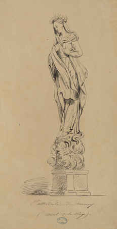 Cathédrale de Nancy : autel de la Vierge