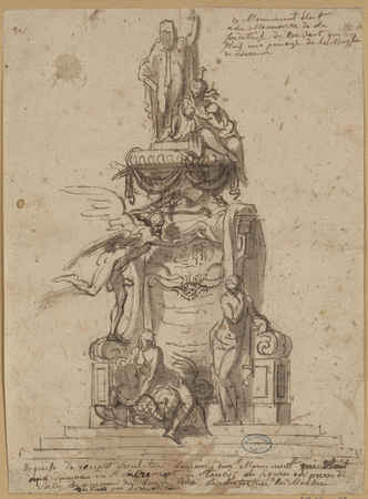 Ce monument était à la mémoire de la fondatrice du couvent qui était une p…