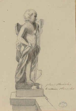 [Statue de la] place Stanislas. Trottoirs Stanislas