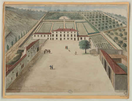 Vue d'une propriété contenant plusieurs corps de bâtiments ainsi que plusi…