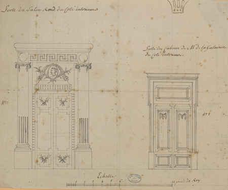 Portes du cabinet de M. de la Galaizière