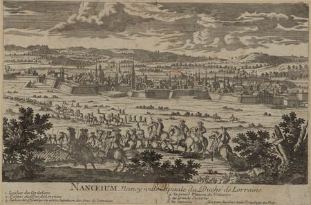 Nanceium, Nancy ville capitale du Duché de Lorraine