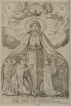 L'image miraculeuse de Nostre Dame de Bon Secours près de Nancy en Lorraine