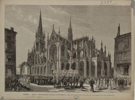 France, Nancy, Consécration de la basilique de Saint-Epvre